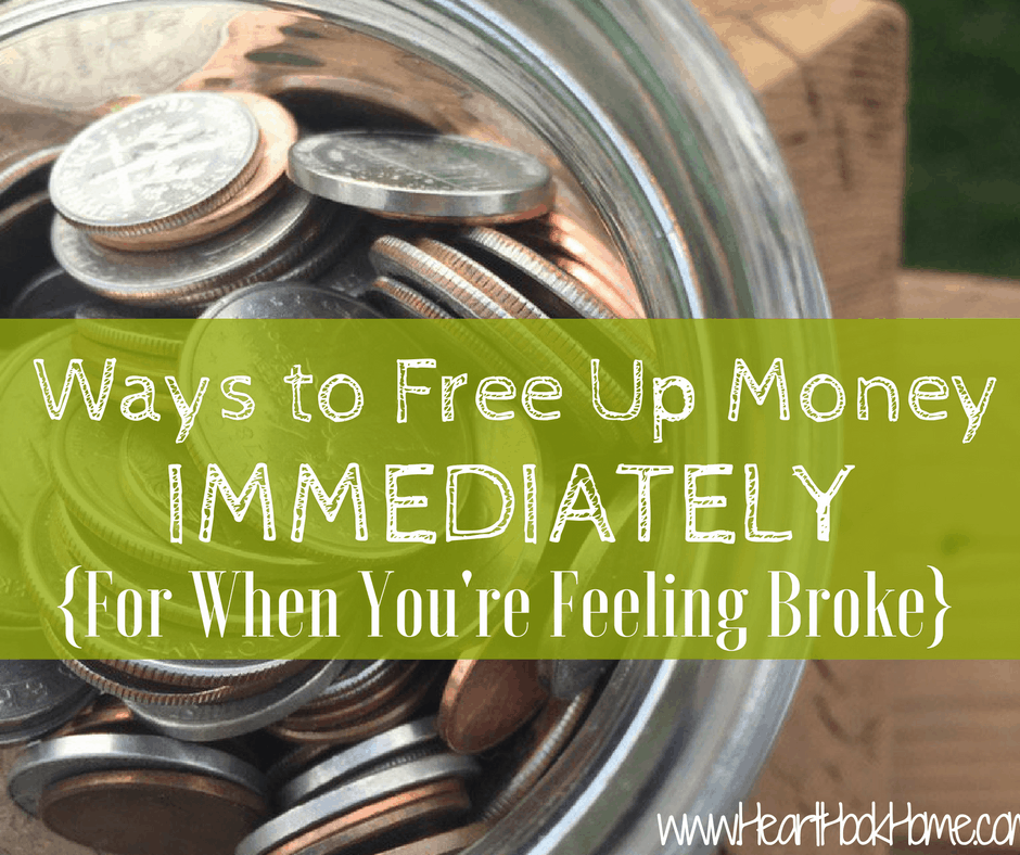 Ways to Free Up Money Immediately (When You're Feeling Broke)