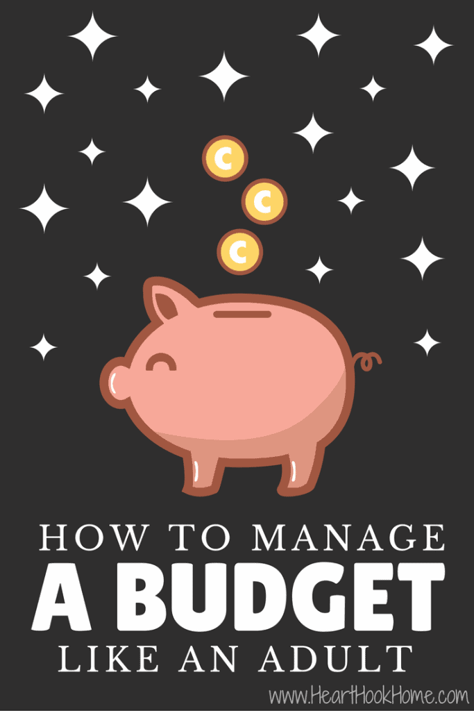 How to Manage Your Budget Like an Adult