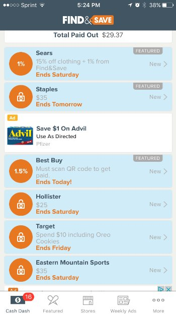 Must Have Money Saving Smartphone Apps