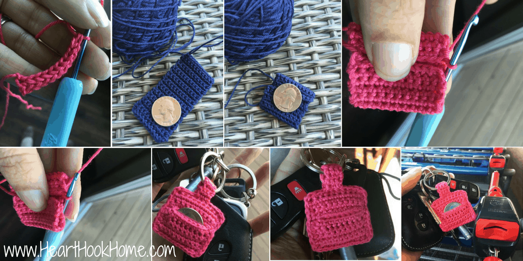 Aldi Quarter Keeper {FREE Crochet Pattern}
