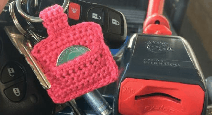Aldi Quarter Keeper {FREE Crochet Pattern}