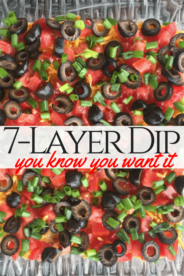 Crowd Favorite: 7-Layer Dip (Great for Football!)