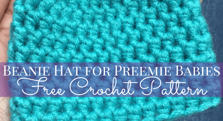 Beanie Hat for Preemie Babies Free Crochet Pattern
