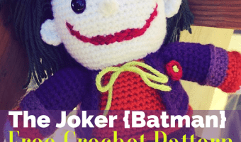 The Joker (Batman) Amigurumi FREE Crochet Pattern