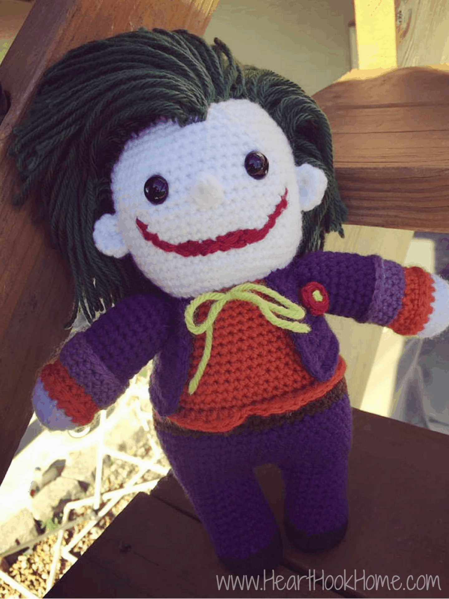 The Joker (Batman) Amigurumi Crochet Pattern