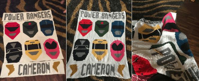 Power Rangers Corner to Corner (C2C) Graphgan