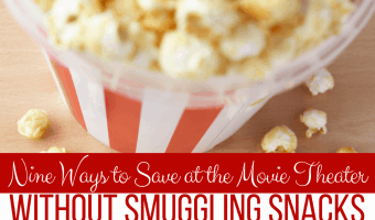 Nine Ways to Save at the Movie Theater