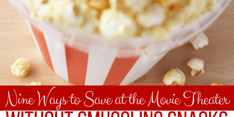 Five Ways to Save at the Movie Theater
