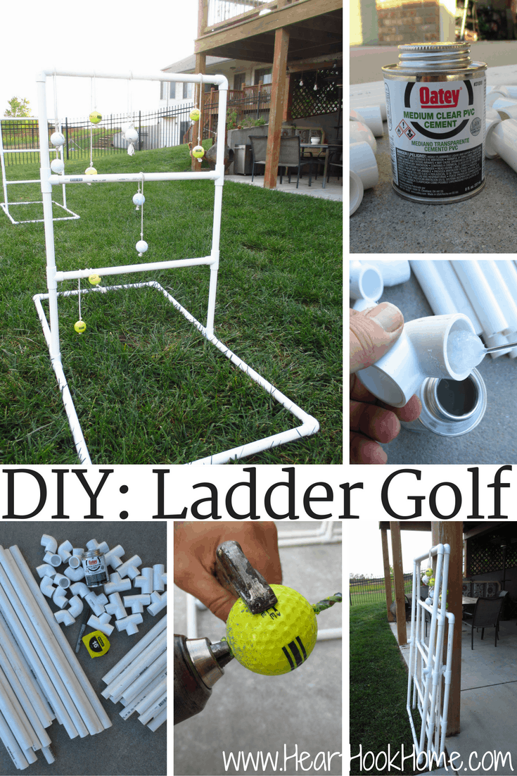 DIY: Homemade Ladder Golf Game (Hillbilly Horseshoes)