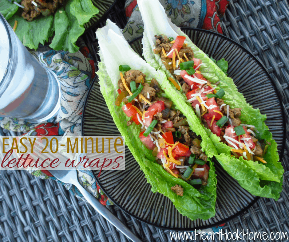Easy 20-Minute Lettuce Wraps