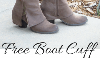Reversible Boot Cuffs – Free Crochet Pattern
