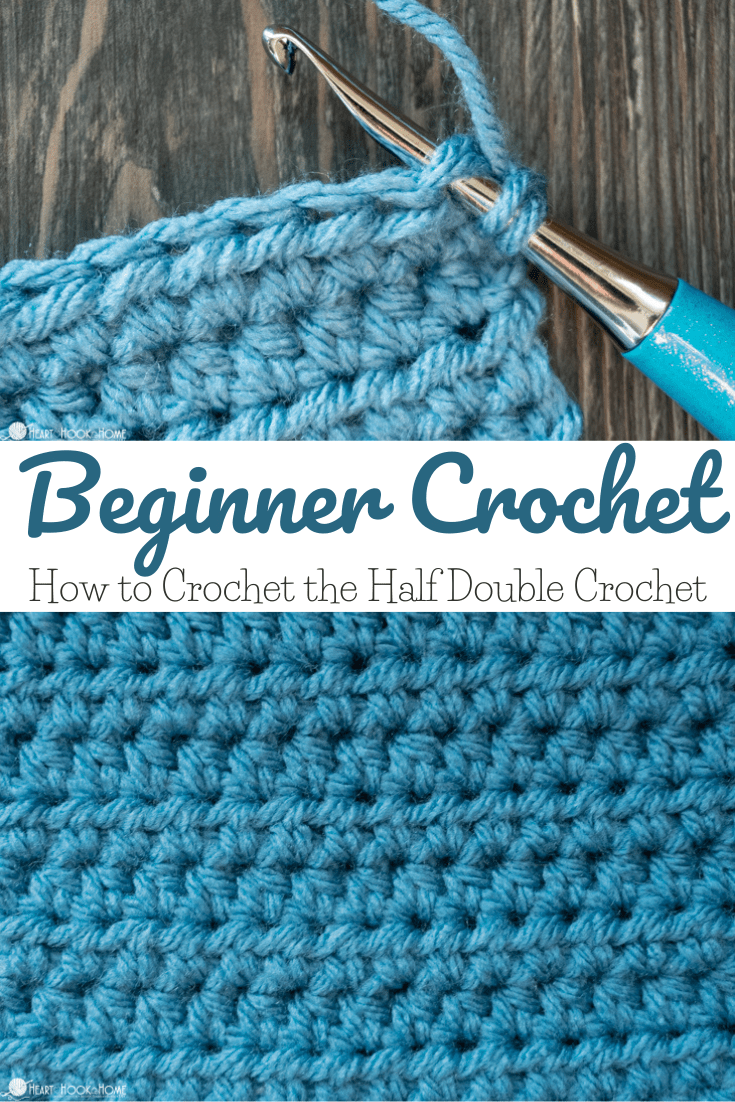 half double crochet tutorial