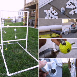 How to Make a Ladder Gold Set Using PVC Pipe
