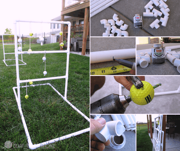 How to make a ladder golf game set using pvc pipe solutioingenieria Images