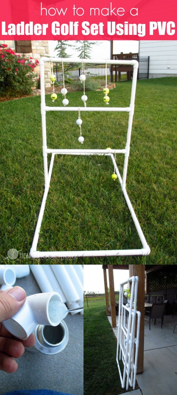 How to make a ladder golf game set using pvc pipe solutioingenieria Gallery