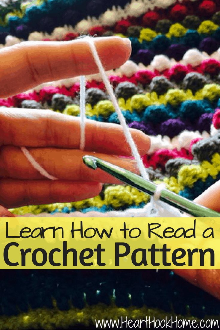 How To Read Crochet Patterns : How to Read a Crochet Pattern