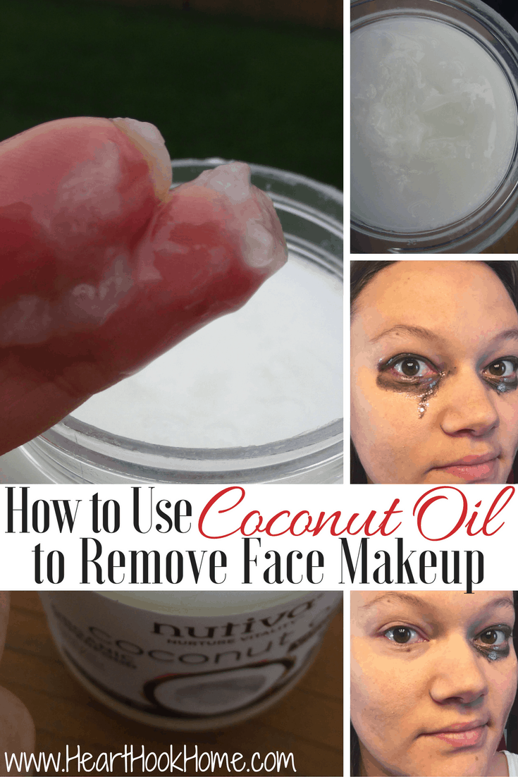 How To Use Coconut Oil Remove Eye Makeup