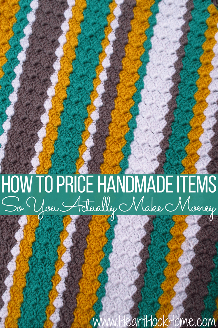 Tips for pricing handmade items to actually make money for Handmade items for home