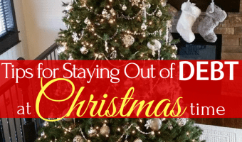 11 Tips for Staying out of Debt at Christmas Time