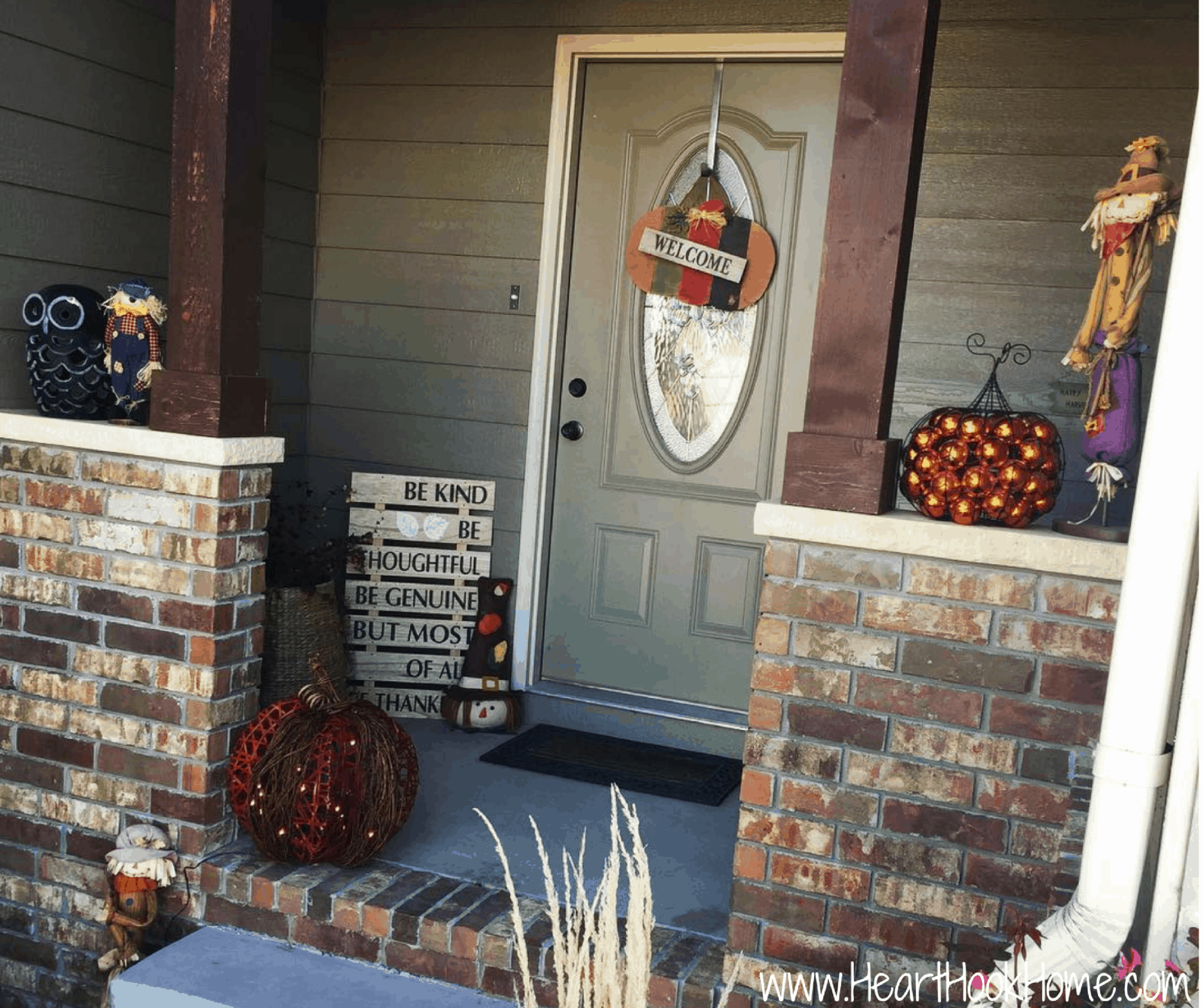 Gordmans Front Porch Fall Make Over
