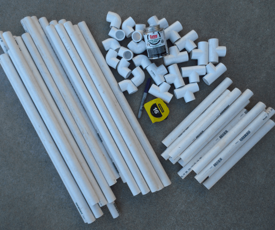 Pvc Ladder Rungs : How to make a ladder golf game set using pvc pipe