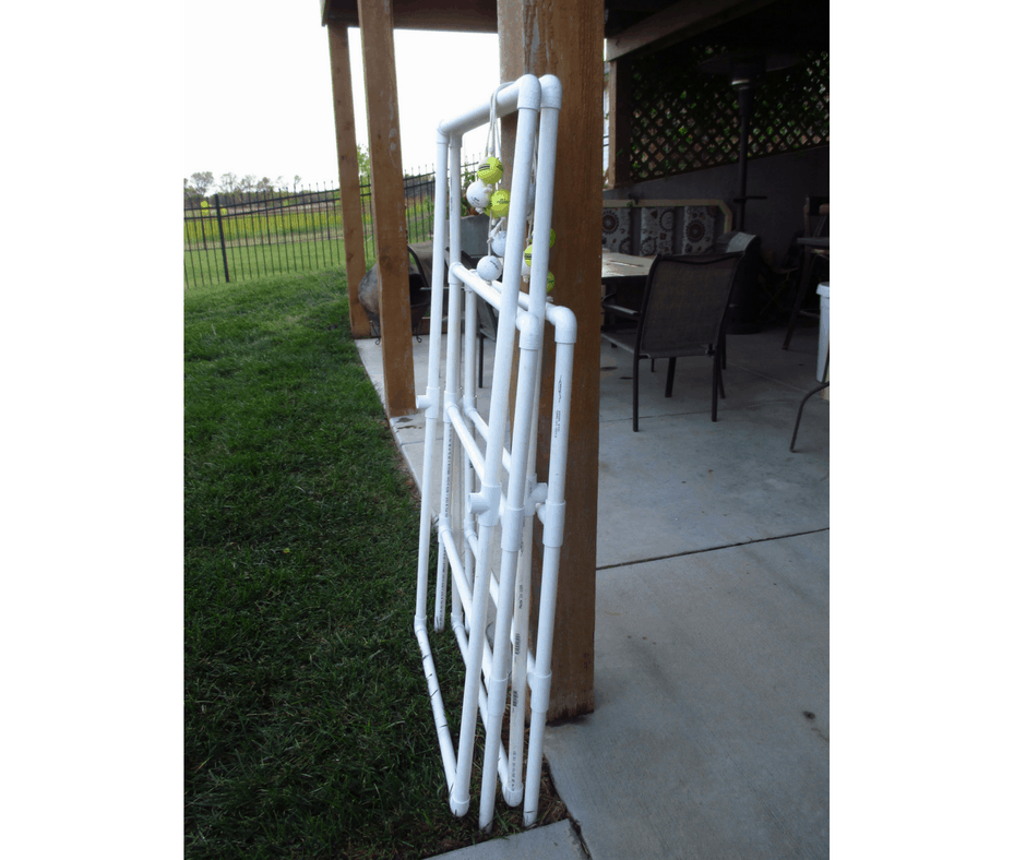 How to make a ladder golf game set using pvc pipe diy homemade ladder golf game hillbilly horseshoes solutioingenieria Image collections