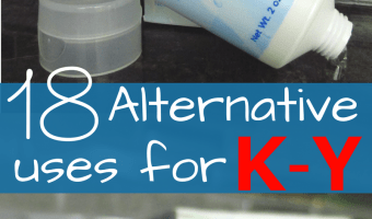 18 Alternative (and Clever) Uses for K-Y Lubricant