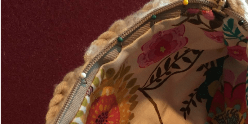 How to Add a Zipper and Lining to a Crochet Bag