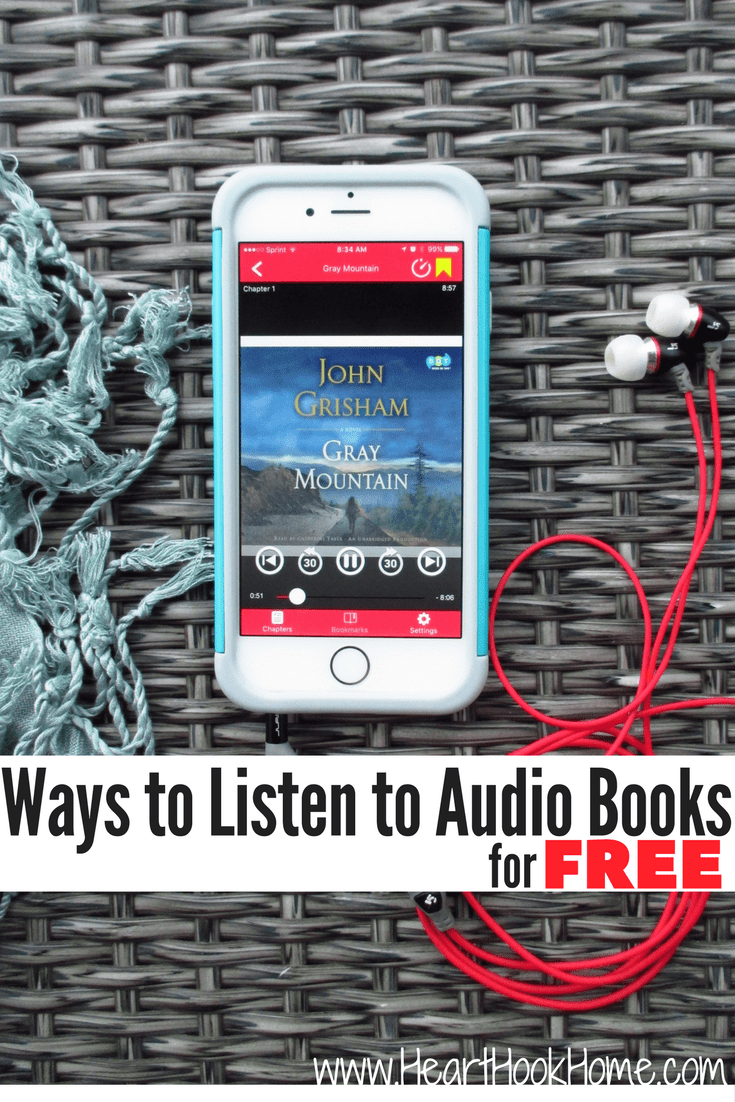 Ways to Listen to Audio Books for Free