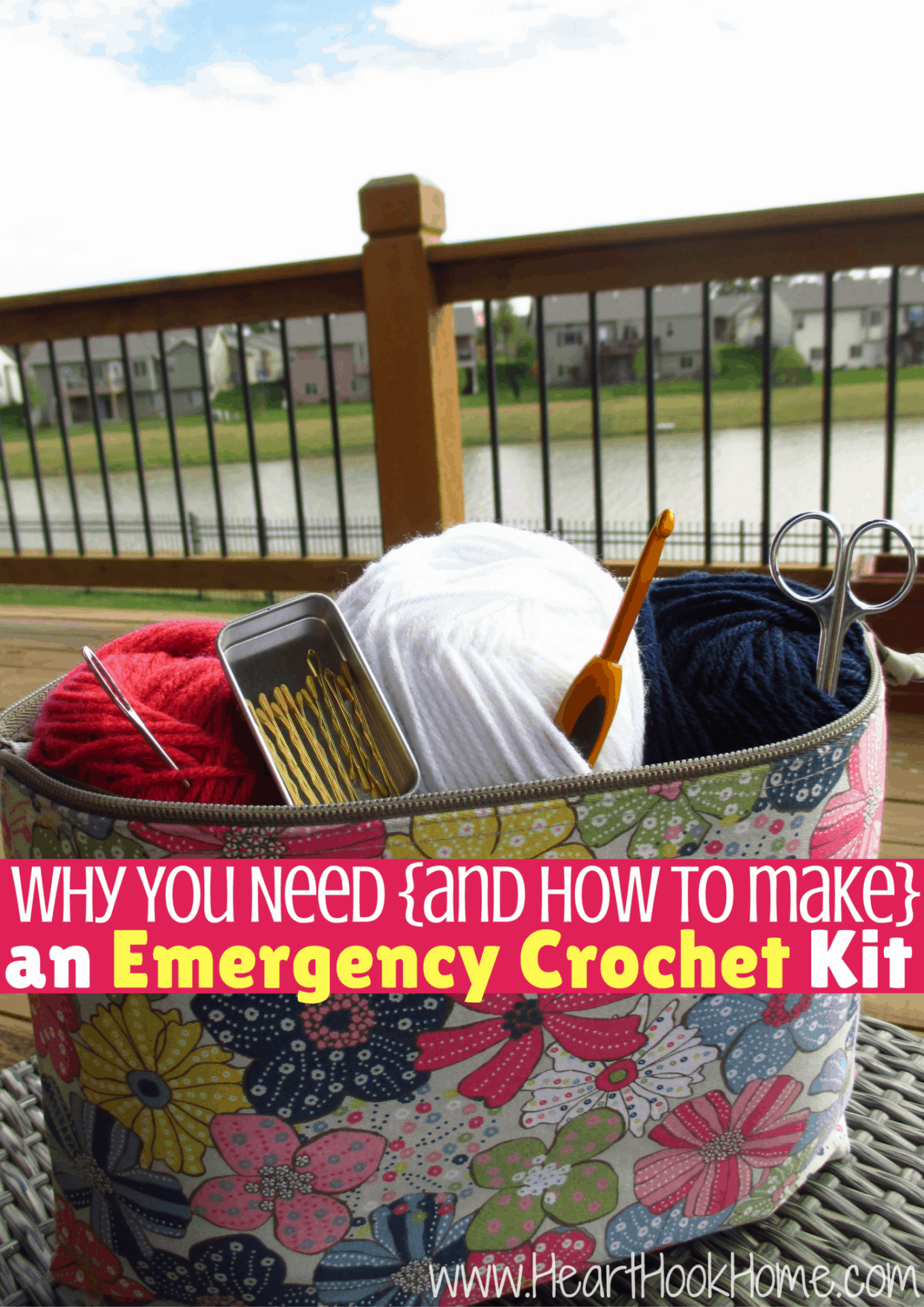 Why You Need an Emergency Crochet Kit + How to Make One