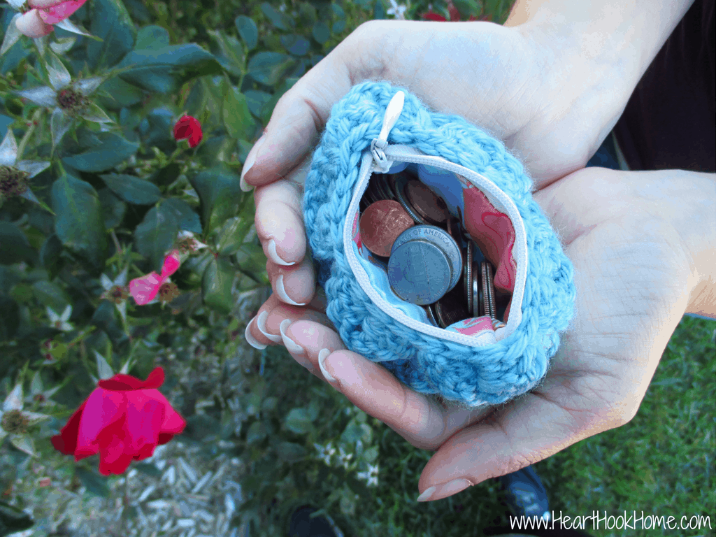Dragon Tears Coin Purse Crochet along