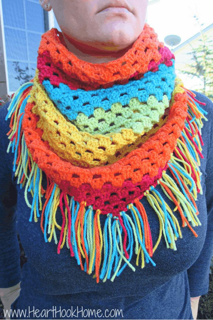 Crochet Blanket Using New Cake Yarn