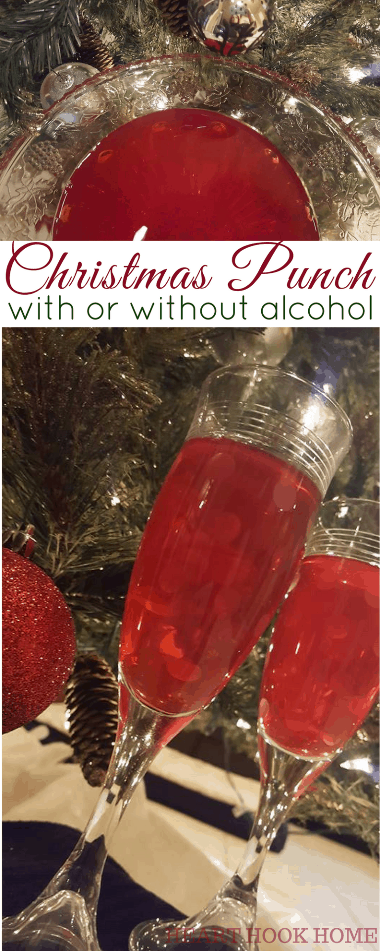 Easy Cranberry Christmas Punch