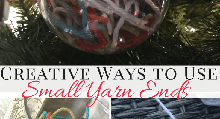 Creative Ways to Use Yarn Ends (Instead of Tossing Them Out)