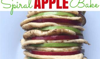 Spiral Apple Bake Recipe