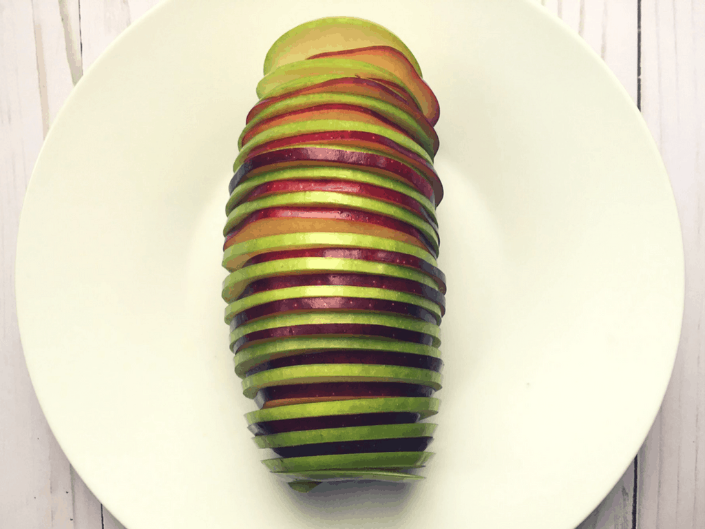 Spiral Apple Bake