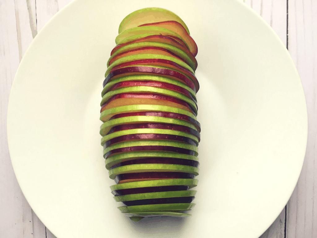 Spiral Apple Bake