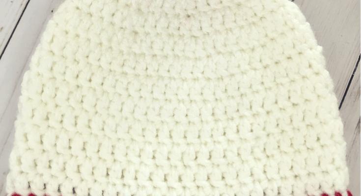 Easy Peasy 30-Minute Beanie Crochet Pattern