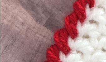 The Crab Stitch Crochet Stitch + Video Tutorial