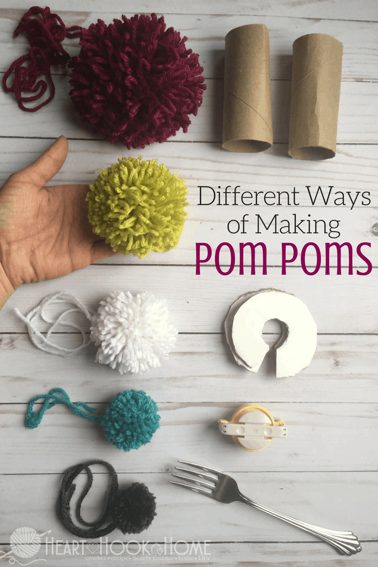 b7e236fa9e0 Different Methods of Making Pom Poms
