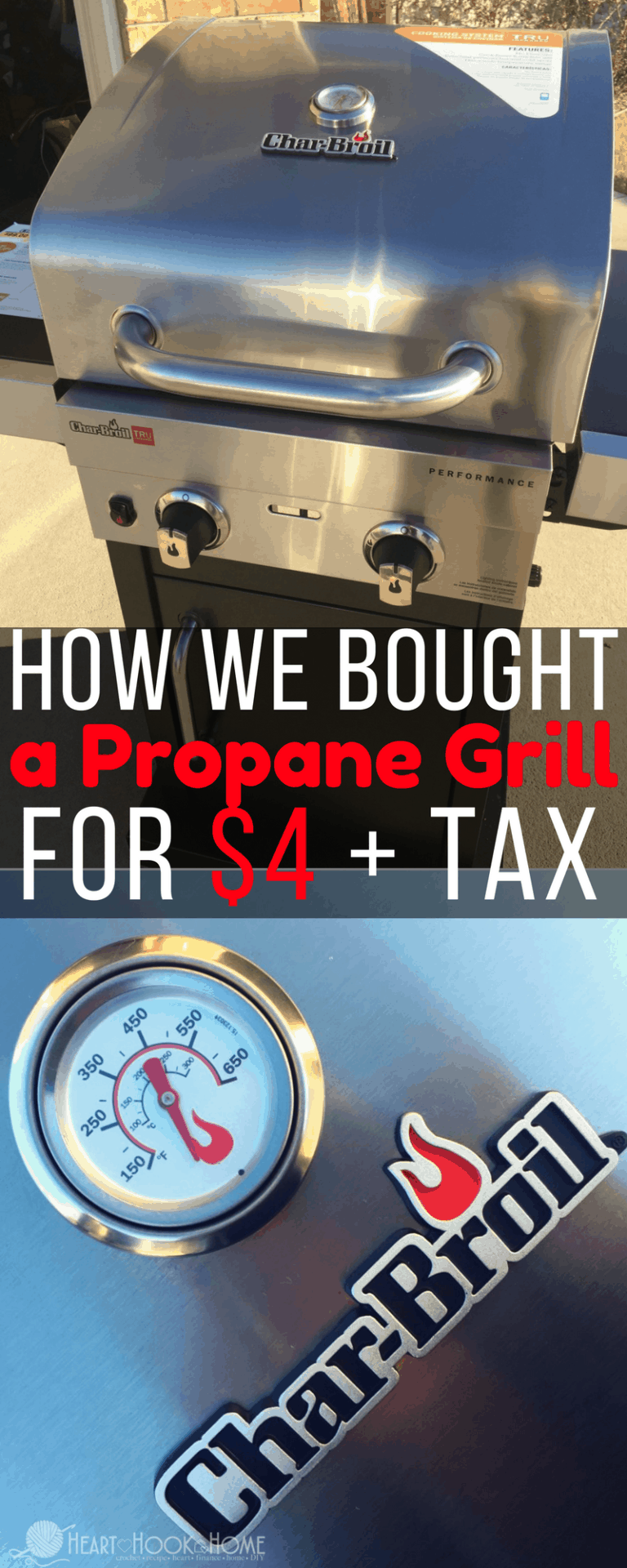 How We Bought a Propane Grill for Just $4 + Tax
