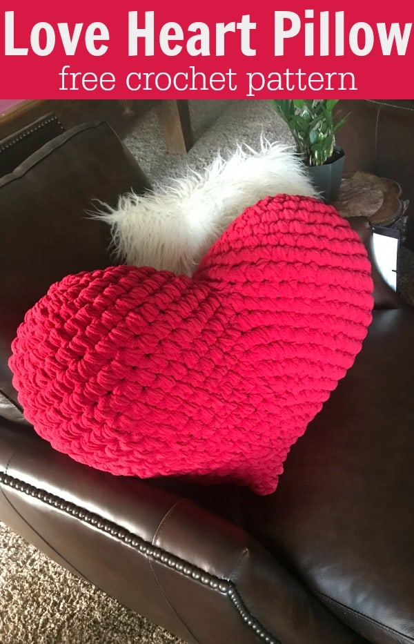 Love Heart Crochet pattern