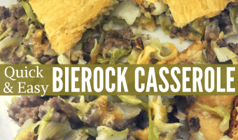 Quick & Easy Bierock Casserole Recipe