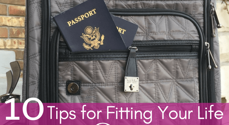Ten Tips for Fitting Your Life into a Carry-on Bag