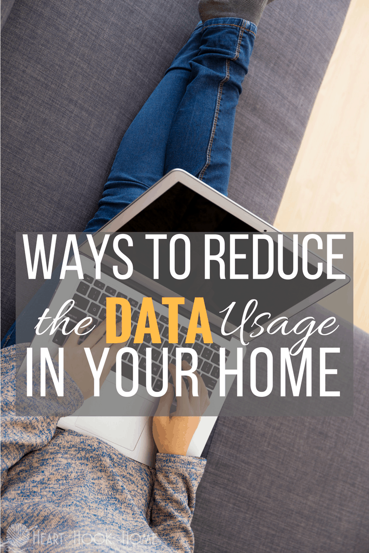 Ways to Reduce Data Usage in Your Home