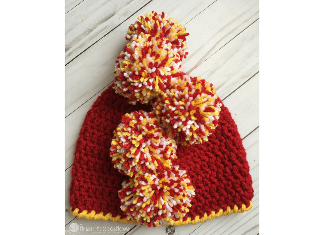 How to Make the Perfect Mohawk Beanie Using Pom Poms