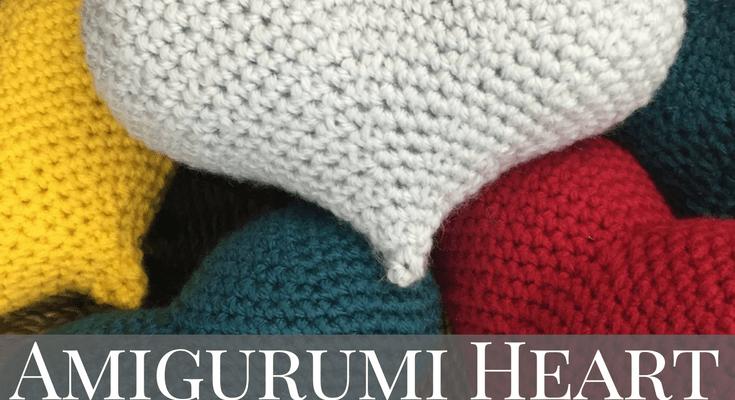 Amigurumi Love Heart Crochet Pattern