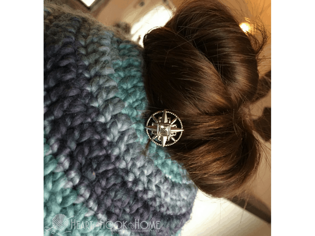 Messy Bun Hair Clips from Lilla Rose (a Review)