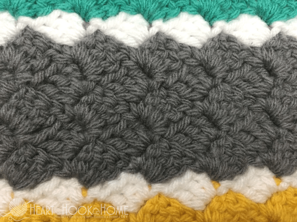 How To Crochet A Corner To Corner C2c Throw Video Tutorial