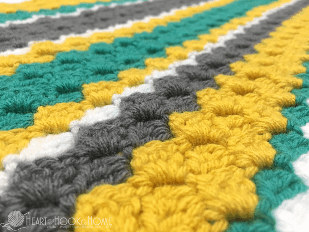 How to Crochet a Corner to Corner (C2C) Throw